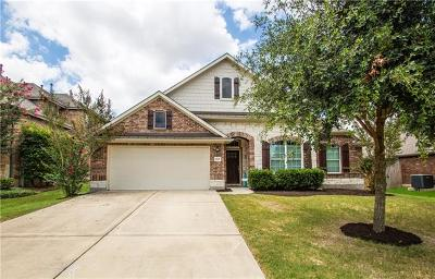 Pflugerville Single Family Home For Sale: 2601 Barley Field Pass