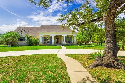 Burnet Single Family Home For Sale: 203 Circle Oaks Dr