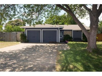 Cedar Park Single Family Home Pending - Taking Backups: 713 Russet Valley Dr