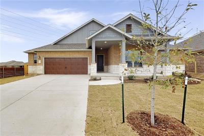 Hutto Single Family Home For Sale: 1208 Knowles Dr