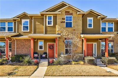 Round Rock Condo/Townhouse Pending - Taking Backups: 534 Tumlinson Fort Way