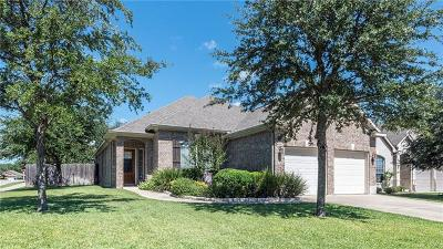 Cedar Park Single Family Home For Sale: 2007 Burnie Bishop Pl