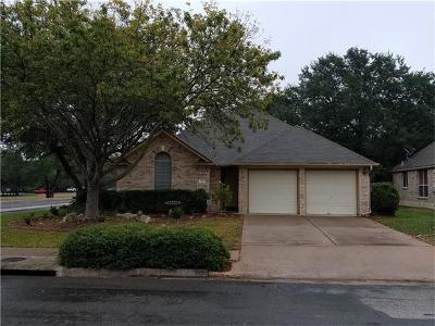Cedar Park TX Single Family Home Pending - Taking Backups: $220,000