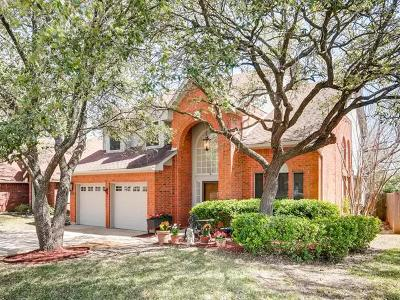Round Rock Single Family Home For Sale: 16909 Dorman Dr
