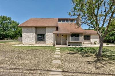 Buda Single Family Home Active Contingent: 309 Leisurewoods Dr