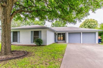 Austin Single Family Home For Sale: 1801 Wooten Dr