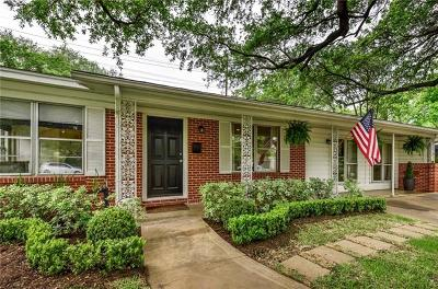 Austin Single Family Home For Sale: 5706 Fairlane Dr