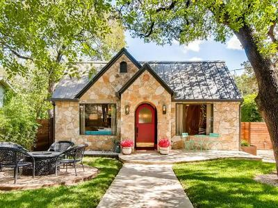 Austin TX Single Family Home Pending - Taking Backups: $1,275,000