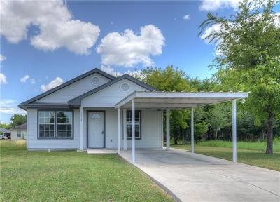 Lockhart Single Family Home For Sale: 1312 Hausman