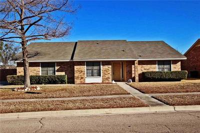 Killeen Single Family Home For Sale: 803 Turtle Bend Dr