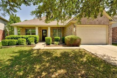 Round Rock Single Family Home For Sale: 113 Nick Price Loop