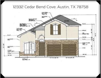Austin Single Family Home For Sale: 12332 Cedar Bend Cv