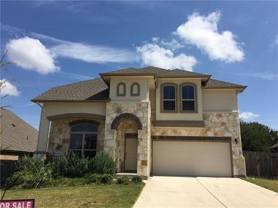 Leander Single Family Home For Sale: 2902 Rio Verde Dr