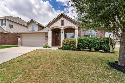 Hutto Single Family Home For Sale: 1001 Emory Fields Cv