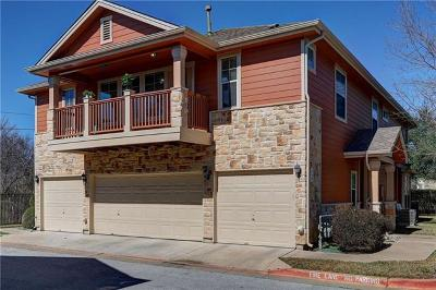 Round Rock Condo/Townhouse For Sale: 1481 E Old Settlers Blvd #201