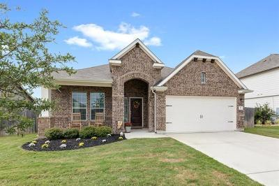 Hutto Single Family Home For Sale: 411 Wimberley St