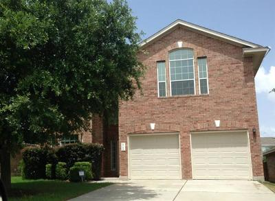 Leander Rental For Rent: 2716 Granite Creek Dr