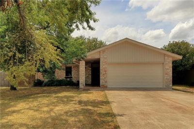 Georgetown Single Family Home Pending - Taking Backups: 2206 Trails End Dr