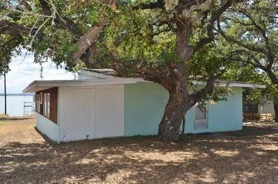 Burnet TX Single Family Home For Sale: $189,900