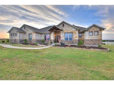 Georgetown Single Family Home For Sale: 33109 Equestrian Way