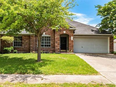 Pflugerville Single Family Home For Sale: 1304 Firebush Dr
