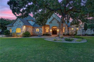 Georgetown TX Single Family Home For Sale: $1,289,000