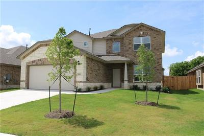 Round Rock Single Family Home For Sale: 5941 Malta Cir
