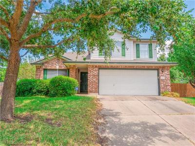Round Rock Single Family Home For Sale: 17409 Abaco Harbour Ln
