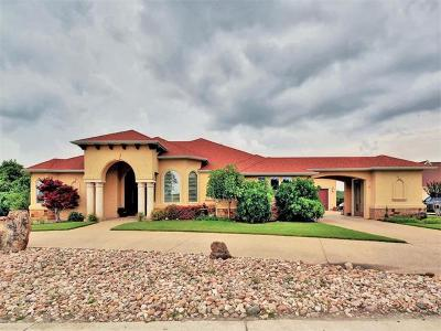 Leander Single Family Home For Sale: 3103 Crystal Falls Pkwy