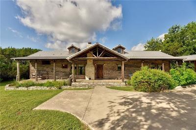 Austin Single Family Home For Sale: 8800 Madrone Ranch Trl