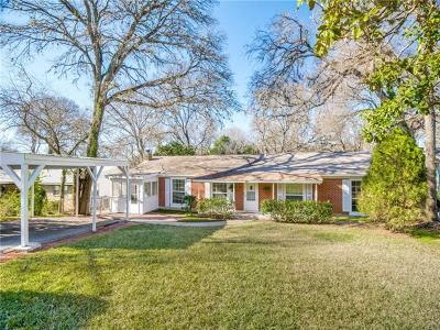 Austin Single Family Home For Sale: 3206 Westhill Dr