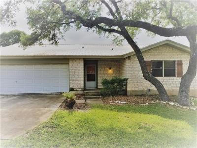 Wimberley Single Family Home For Sale: 18 Champions Cir