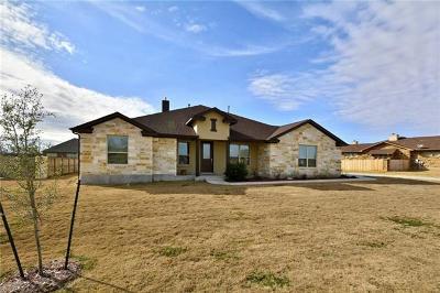Bastrop Single Family Home Pending - Taking Backups: 281 Sam Houston Dr