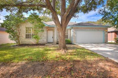 Pflugerville Single Family Home For Sale: 16902 Gower St