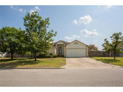 Hutto Single Family Home For Sale: 432 Little Lake Rd