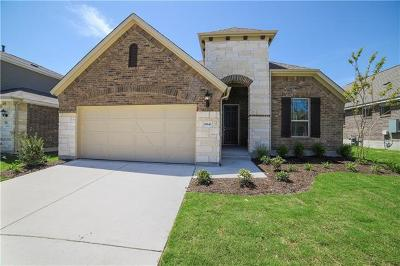 Round Rock Single Family Home For Sale: 6843 Catania Loop