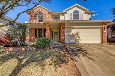 Round Rock Single Family Home For Sale: 1614 Candelaria Mesa Dr