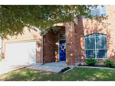 Pflugerville Single Family Home For Sale: 18608 White Water Cv