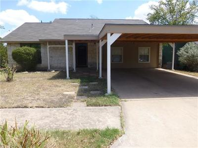 Round Rock Single Family Home For Sale: 309 Whetstone St