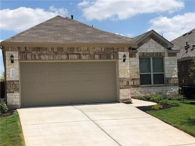 Hutto Rental For Rent: 110 Cyril Dr
