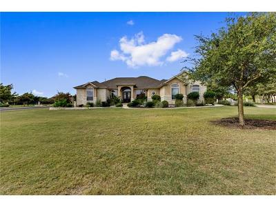 Georgetown TX Single Family Home For Sale: $549,000