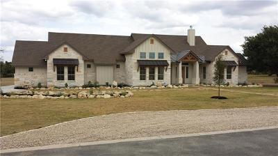Marble Falls Single Family Home For Sale: 104 Clear Springs Ct
