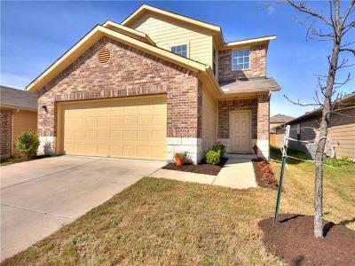 Manor Single Family Home Pending - Taking Backups: 14504 Callan Ct
