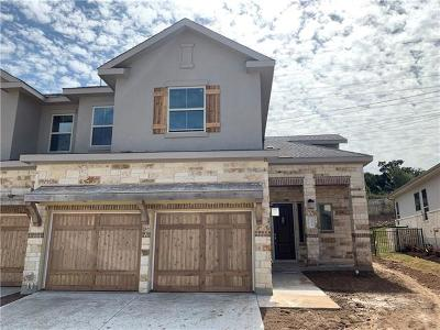 Austin Condo/Townhouse For Sale: 133 Cartwheel Bend