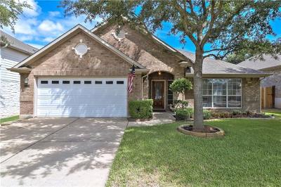 Round Rock Single Family Home For Sale: 3826 Pine Needle Ln