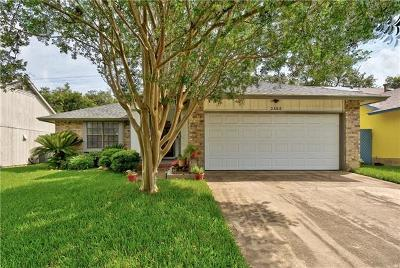 Austin Single Family Home For Sale: 2606 Monarch Dr