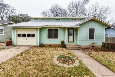 Travis County Single Family Home Pending - Taking Backups: 1906 Alguno Rd