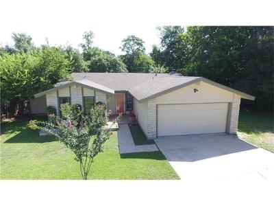 Cedar Park Single Family Home For Sale: 3505 Valley Pike Rd