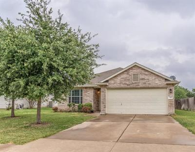 Leander Single Family Home Pending - Taking Backups: 129 Dove Song Dr