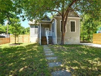 Austin Single Family Home For Sale: 4500 Speedway #a St